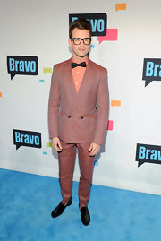 We just love Brad Goreski's retro-inspired checkered suit, don't you?