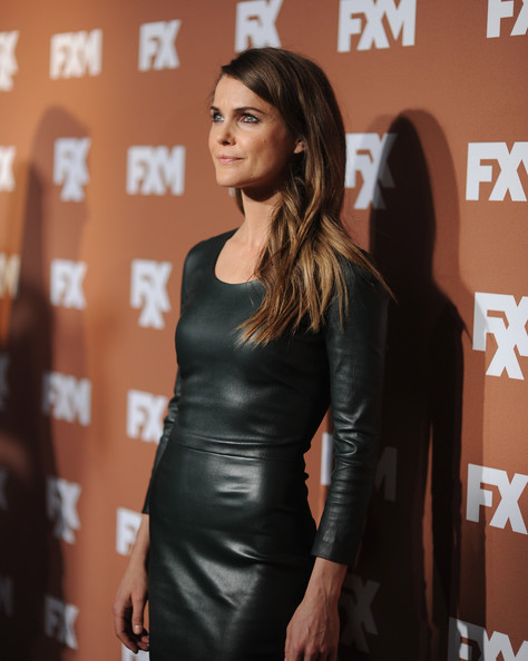 More Pics of Keri Russell Leather Dress (1 of 23) - Keri Russell Lookbook - StyleBistro