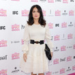 Salma Hayek Wore Alexander McQueen at the 2013 Independent Spirit Awards