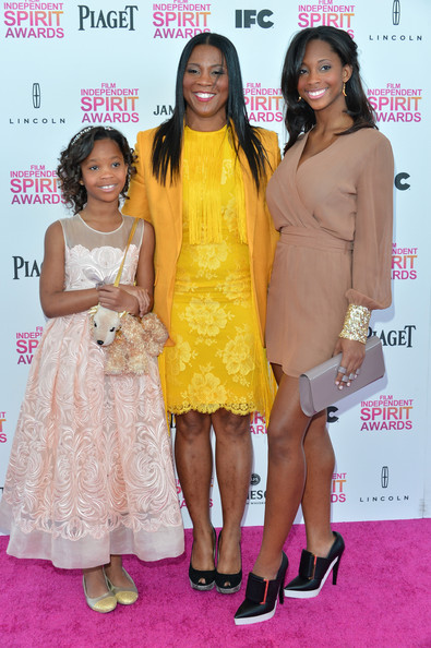 More Pics of Quvenzhane Wallis Pinned Up Ringlets (1 of 31) - Pinned Up Ringlets Lookbook - StyleBistro