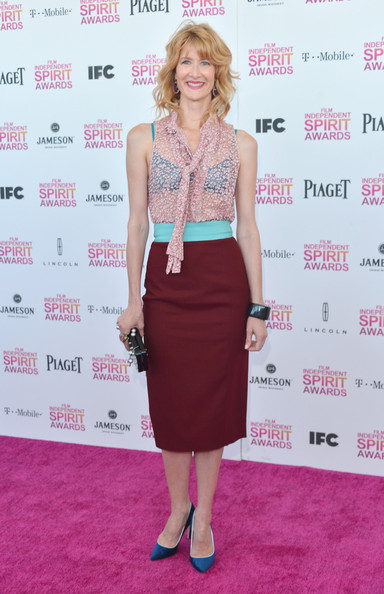 More Pics of Laura Dern Pencil Skirt (1 of 17) - Laura Dern Lookbook - StyleBistro