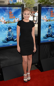 Leah Pipes kept it simple yet classic with this LBD at the Los Angeles Film Festival premiere of 'The Way, Way Back.'
