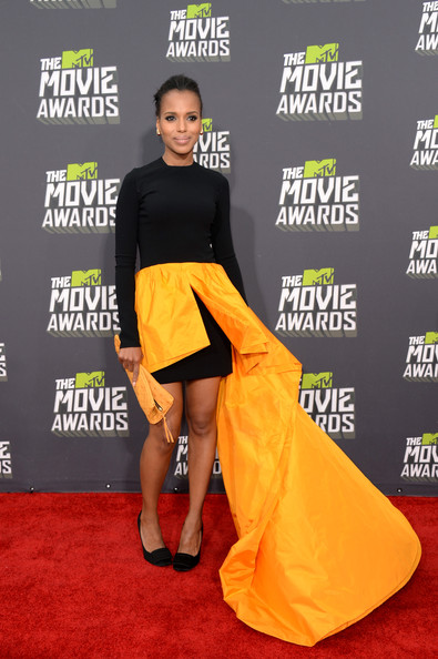 More Pics of Kerry Washington Pumps (5 of 22) - Kerry Washington Lookbook - StyleBistro