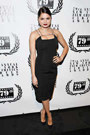 Melonie Diaz oozed sexy elegance in a Cushnie et Ochs LBD during the NY Film Critics Circle Awards.