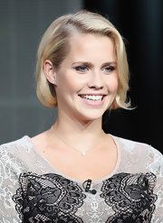 Claire Holt's curled under bob had a cute little flare to it that we just loved.