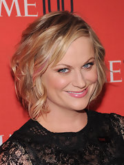 Amy Poehler rocked a short and wavy 'do at the Time 100 Gala.