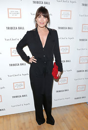 Tamara Mellon made this black jumpsuit totally evening-appropriate at the 2013 Tribeca Ball.