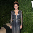 Halle Berry Wore Versace at the Vanity Fair Oscars Party 2013