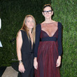 Courtney Crangi and Jenna Lyons at the Vanity Fair Oscars Party 2013
