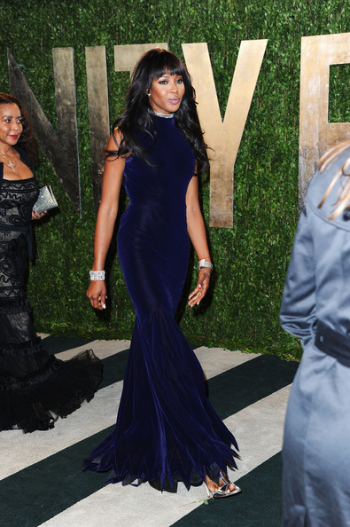 More Pics of Naomi Campbell Evening Dress (1 of 11) - Naomi Campbell Lookbook - StyleBistro