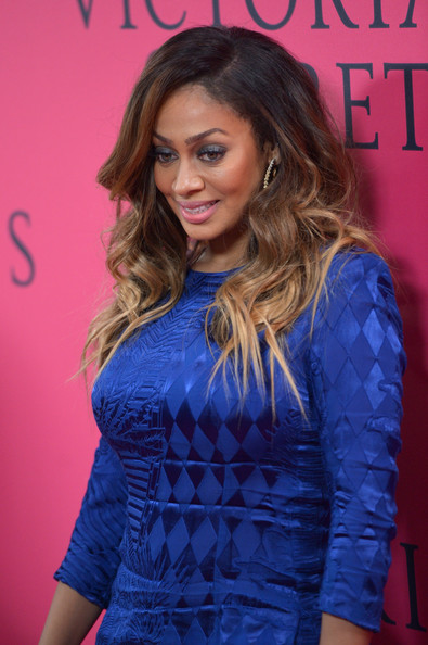 More Pics of La La Anthony Long Curls (1 of 6) - La La Anthony Lookbook - StyleBistro