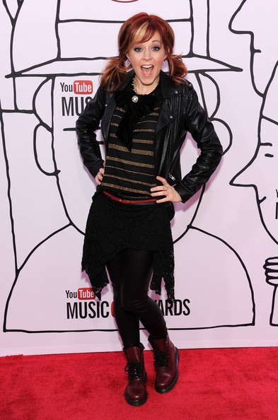 More Pics of Lindsey Stirling Pigtails (4 of 5) - Lindsey Stirling Lookbook - StyleBistro