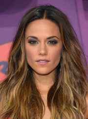 Jana Kramer was sexily styled with smoky eyes and beachy waves at the CMT Music Awards.