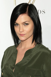 Leigh Lezark sported a simple yet cool graduated bob at the DVF Awards.