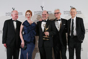 Christina Hendricks and Matthew Weiner Photo