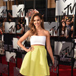 Jessica Alba in Piece d'Anarchive and Kenzo at the MTV Movie Awards