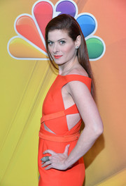 Debra Messing attended the NBC Upfront Presentation wearing a huge statement ring.