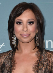 Cheryl Burke looked bold with her smoky eyes.