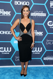Cheryl Burke looked super sultry in a cleavage and midriff-baring dress during the Young Hollywood Awards.