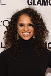 Misty Copeland looked fab with her high-volume curls at the Glamour Women of the Year Awards.