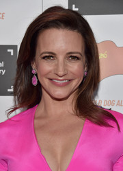 Kristin Davis kept it simple yet chic with this side-parted 'do at the IDA Documentary Awards.