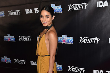 Look of the Day: Vanessa Hudgens Goes for Glam Rocker-Chic