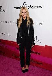 Rachel Zoe was glam-drogynous in a silver-trimmed black tux at the March of Dimes Celebration of Babies.