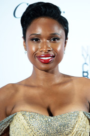Jennifer Hudson rocked a side-parted pompadour at the New York City Ballet Fall Gala.