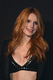 Bella Thorne sported edgy-chic waves at the New York Spring Spectacular.