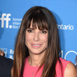 Sandra Bullock's Sleek Straight Tresses