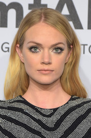 Lindsay Ellingson didn't need much more than this casual 'do to look gorgeous at the amfAR New York Gala.