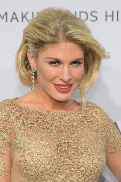 Hofit Golan looked regal with her high-volume faux bob at the amfAR New York Gala.