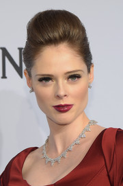 Coco Rocha sported a dramatic pompadour at the amfAR New York Gala.