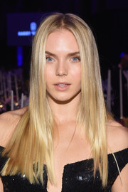 Jordan Murray rocked pin-straight, blunt layers at the amfAR New York Gala.