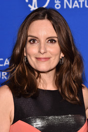 Tina Fey styled her hair with high-volume waves for the 2016 American Museum of Natural History Gala.