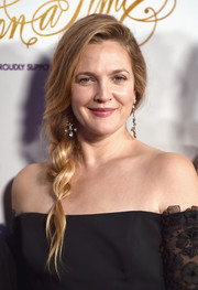 Drew Barrymore was a boho babe with her loose side braid at the Once Upon a Time Gala.