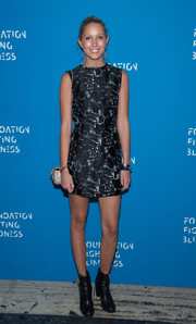 Princess Maria-Olympia wore a black-and-white abstract-print dress to the 2016 Foundation Fighting Blindness World Gala.