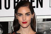Hilary Rhoda Red Lipstick