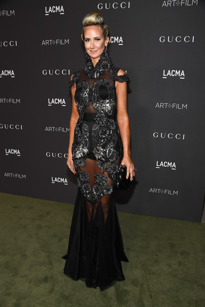 Lady Victoria Hervey in a sheer gothic look