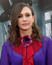 Vera Farmiga sported edgy shoulder-length waves at the Los Angeles Film Fest premiere of 'The Conjuring 2.'