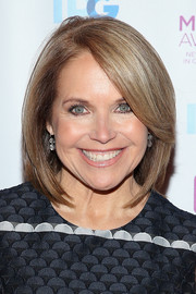 Katie Couric framed her face with this sleek bob for the 2016 Matrix Awards.