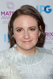 Lena Dunham opted for a casual bob when she attended the 2016 Matrix Awards.