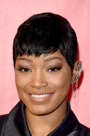 Keke Palmer kept it relaxed with this pixie at the MusiCares Person of the Year event.