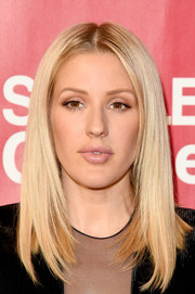 Ellie Goulding framed her face with this straight layered cut for the MusiCares Person of the Year event.