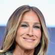 Hairstyles For Women With Fine Hair: Sarah Jessica Parker's Classic Center-Parted Style