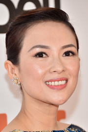 Ziyi Zhang went classic with this side-parted French twist for the TIFF premiere of 'The Magnificent Seven.'