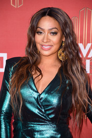 La La Anthony showed off ultra-long waves during VH1's Divas Holiday: Unsilent Night.