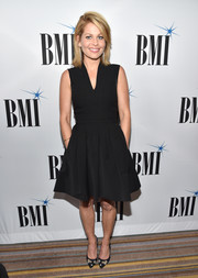 Candace Cameron Bure opted for a classic fit-and-flare LBD when she attended the 2017 BMI Film, TV & Visual Media Awards.