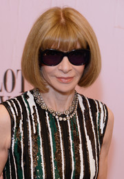 Anna Wintour attended the 2017 CFDA Fashion Awards wearing her signature bob.