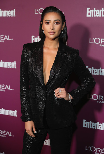More Pics of Shay Mitchell Pantsuit (1 of 3) - Suits Lookbook - StyleBistro